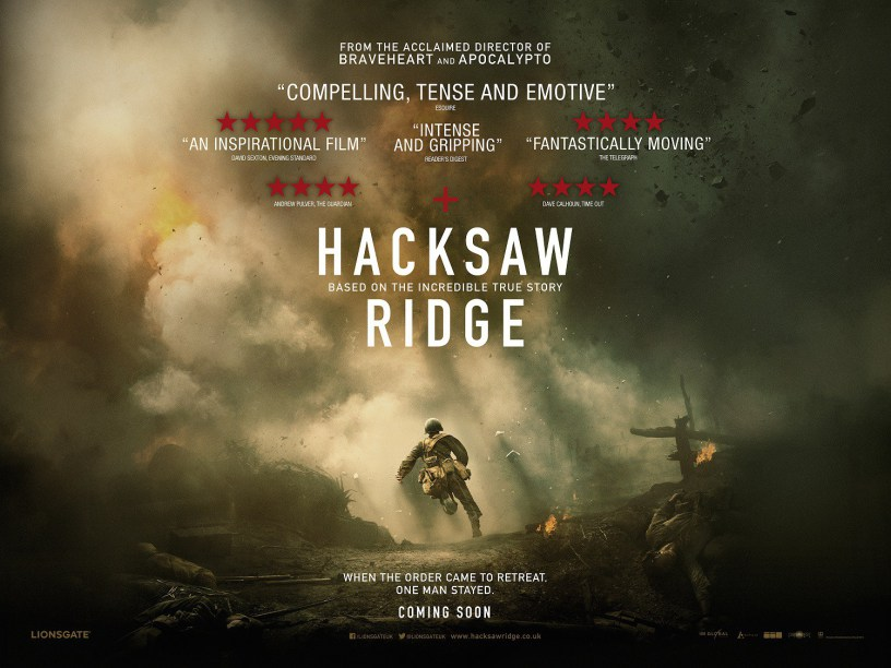 Hacksaw Ridge (2017)- Film review